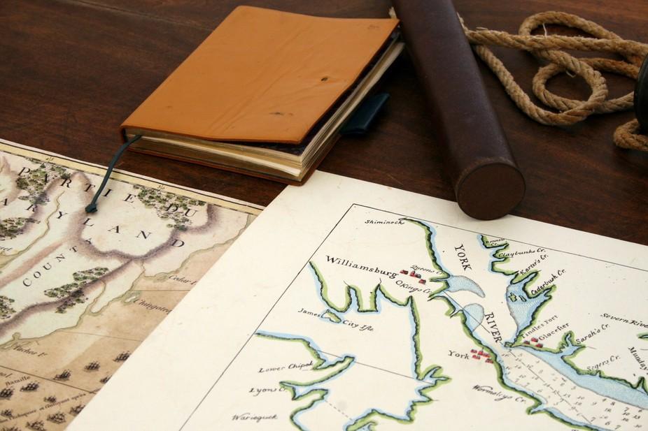 Civil War Maps, Yorktown, VA