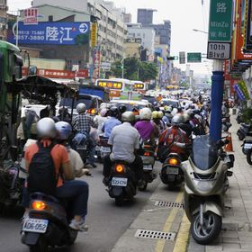 Chaos in Taipei, Taiwan, always under control. I took this photo amazed by the huge amount of motorbikes the city had. I must say I never saw an ...