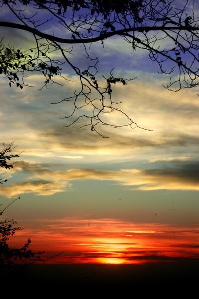 mowcop sunset