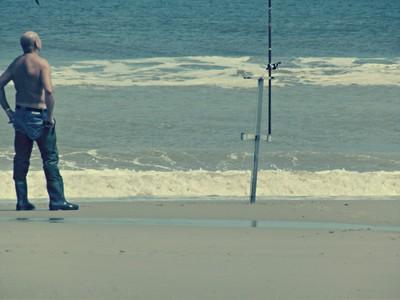 lonley fisherman
