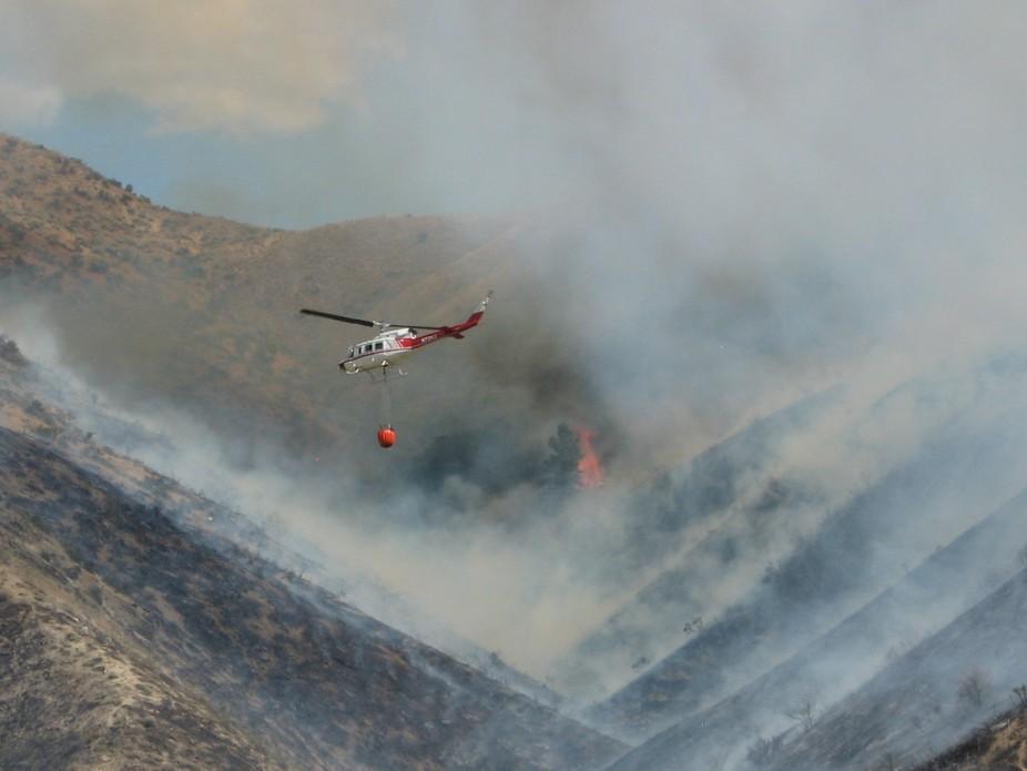 lucky peak fire, boise idaho