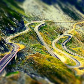 Transfagarasan, Romania. Called 'the best road in the world' by Top Gear.