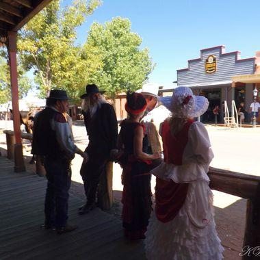 Gunfigters Rendazvous Tombstone AZ