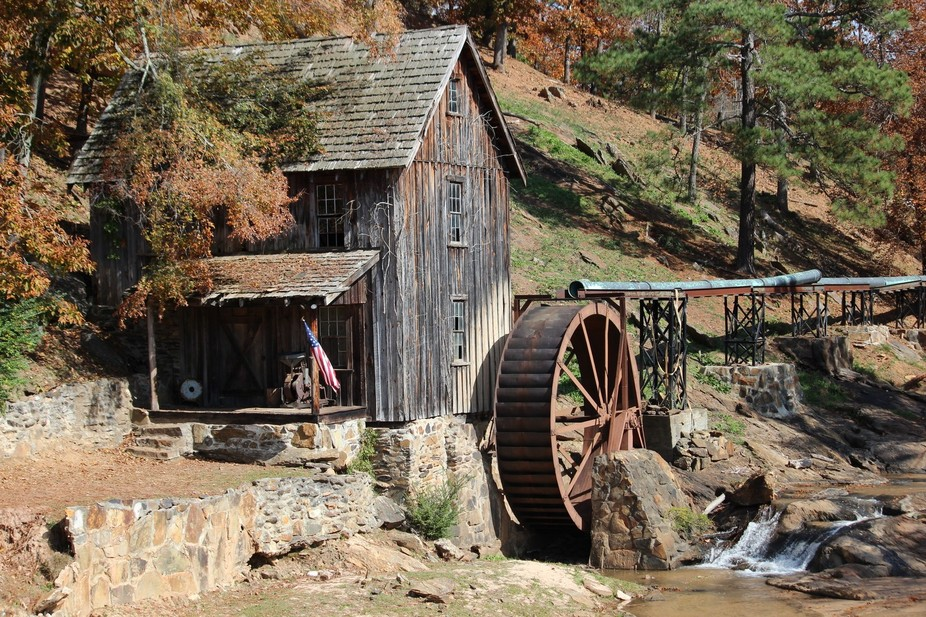 Gresham\'s mill in Canton Ga.