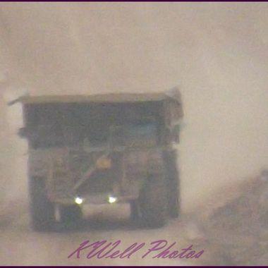 Haul truck Morenci Copper mine