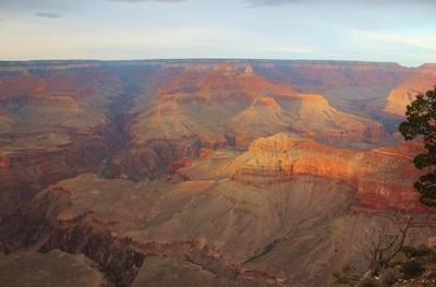 Evening at Grand Canyon