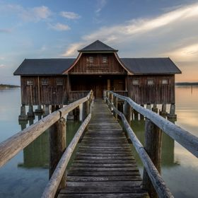 Bootshaus am Ammersee, Germany