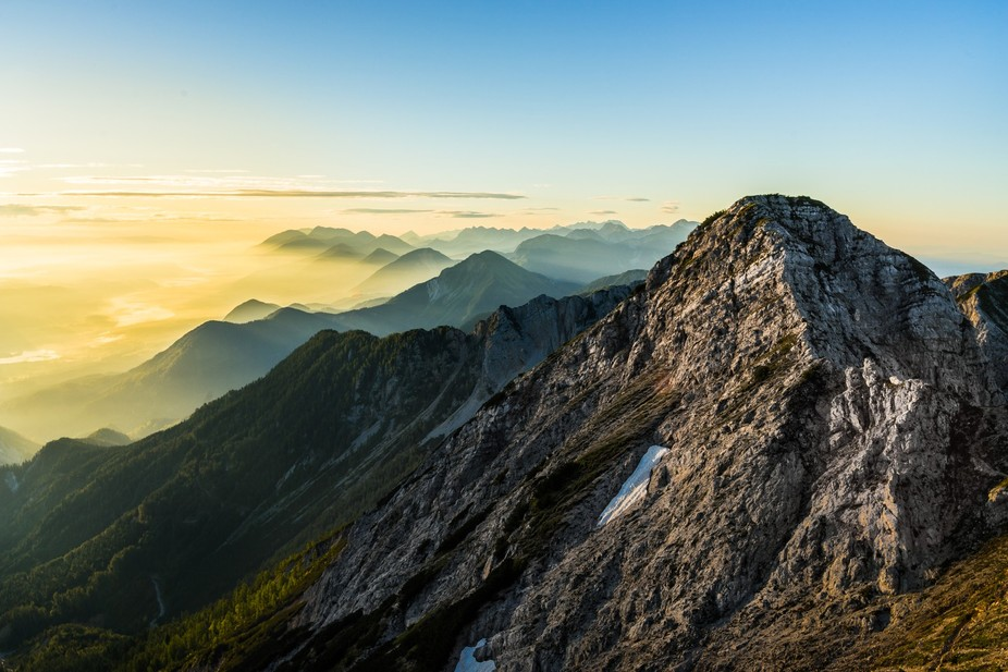 For me it\'s a pleasure to climb a mountains peak and enjoy the sunrise. Pure joy..  I highly reco...