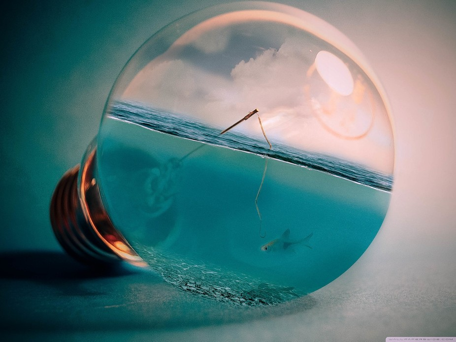Only around 5 images here. Not perfect but started off with a stock image of a light bulb and jus...