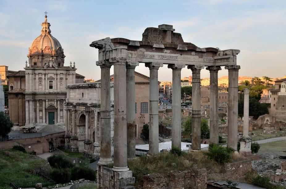 Forum Romanum, Rome, Italy  Captured on august 7 2014, during my roundtrip (Milaan, Modena, Bari,...