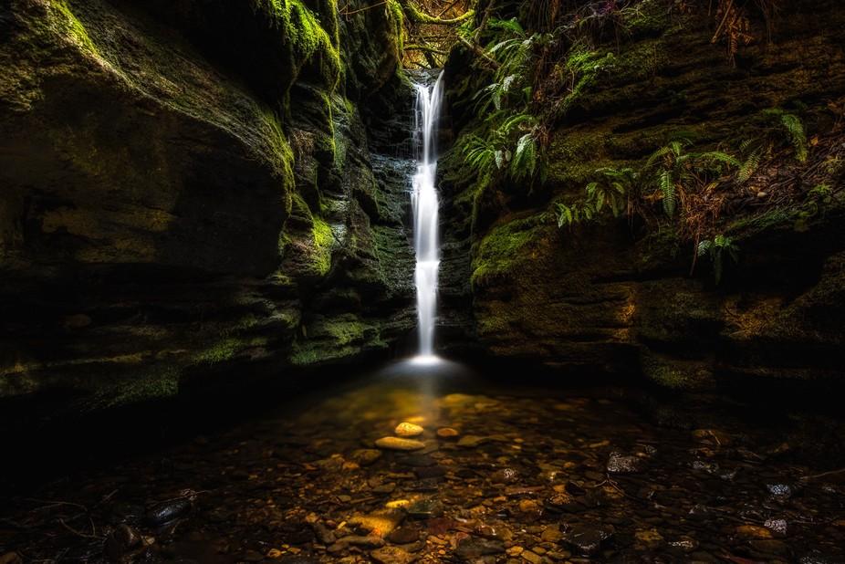 Secret Falls, Hobart, Tasmania, Australia
