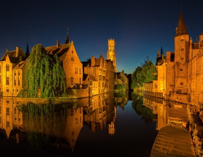 Bruges_Twilight