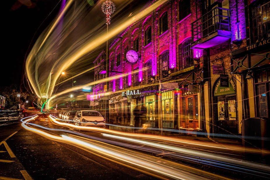 some more Long exposure on a night out in Camden, North London