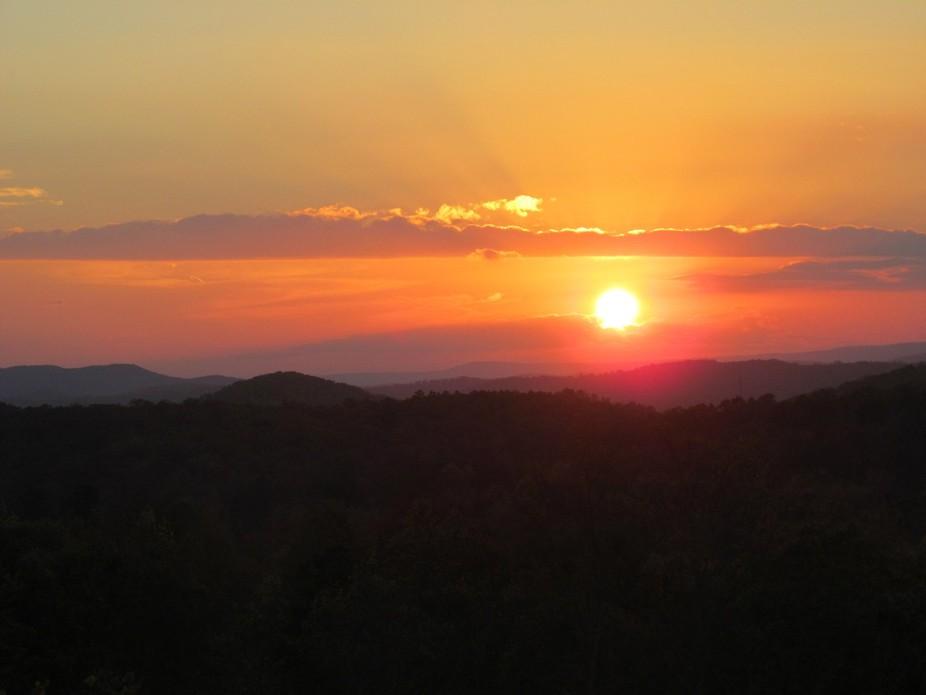 Taylor\'s Ridge Sunset