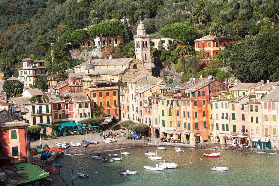 Taken in Portofino, Italy.  It is synonymous with the Italian Riviera and at one time it was part...