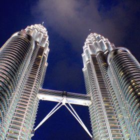 Twin Tower @ night