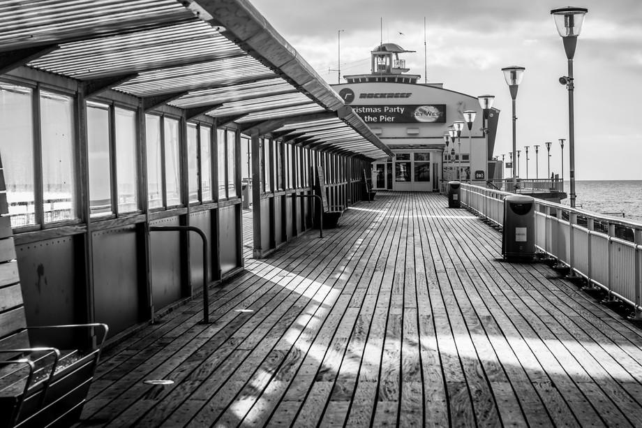 Bournemouth Pier in Dorset, UK.