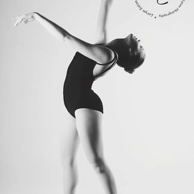 A ballerina image from my final project in my last semester of college.