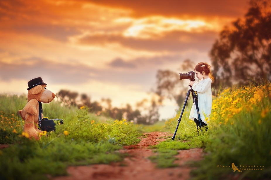 My family and photography...two things that make me complete as cheesy as that sounds. And my lit...