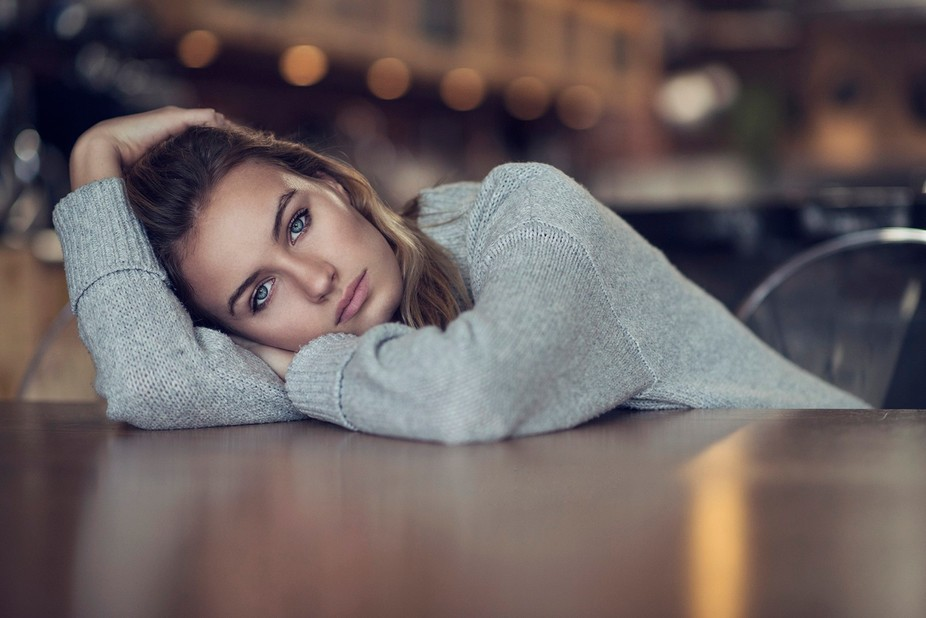 All my portraits are natural light. Follow me on my Facebook page for retouching tips, articles a...