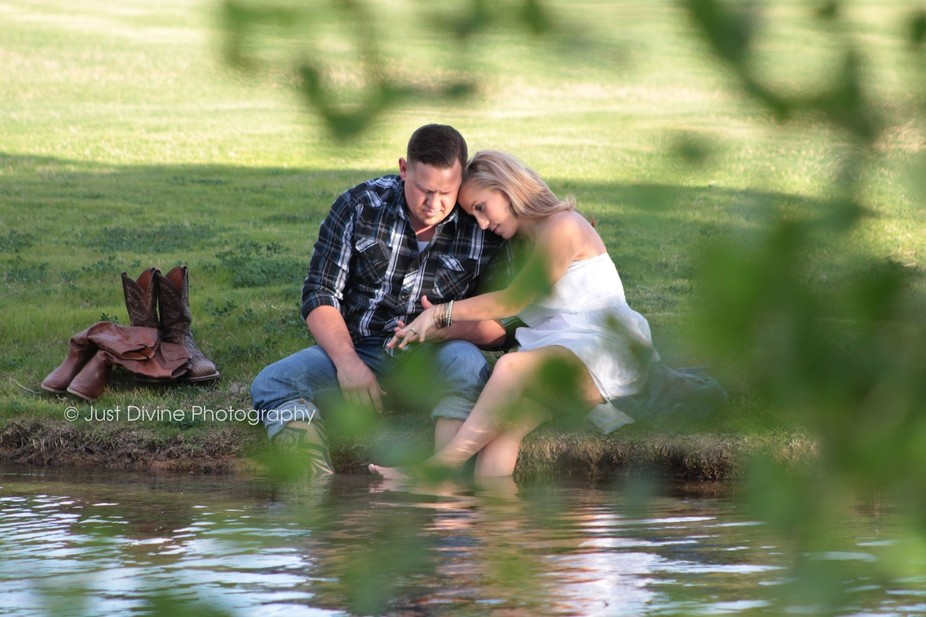 I love capturing love.... those intimate moments shared between two people. As we sat there waiti...