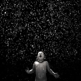 Youth is freedom, youth is innocent and care free. Embrace youth and live while you're still young.  My Niece Rowynn embracing the rain.