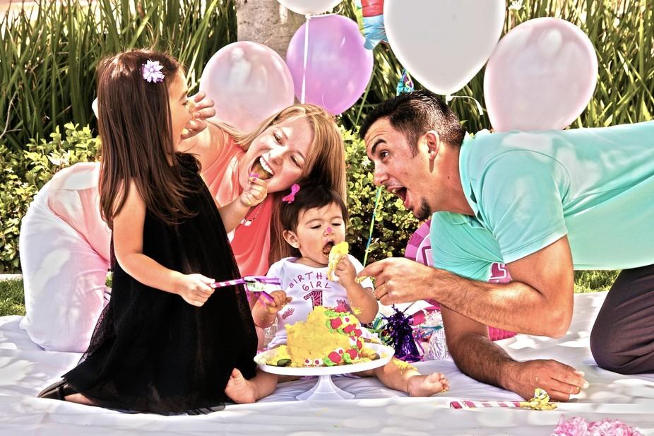Family birthday fun