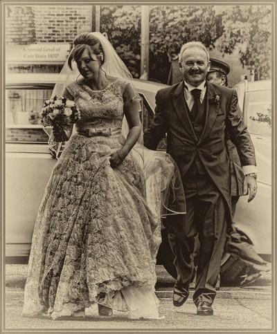 Wedding 3 B&W