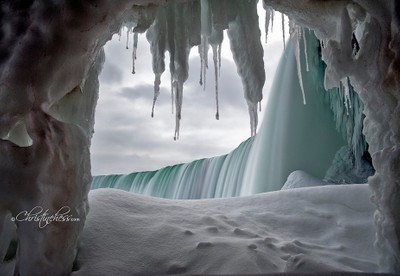 Natures Icicle Curtain