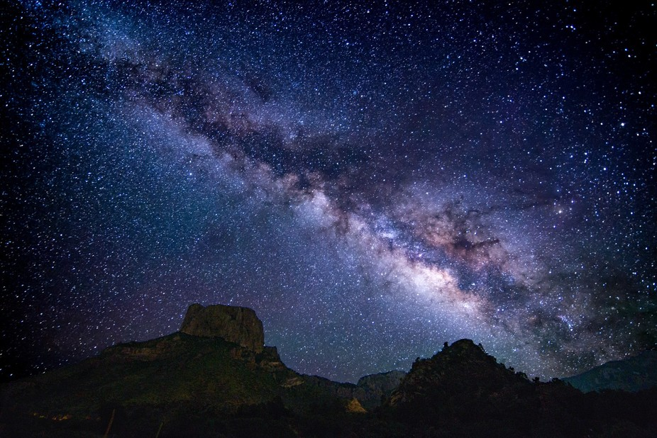went to big bend national park to shoot the milky way during the new moon