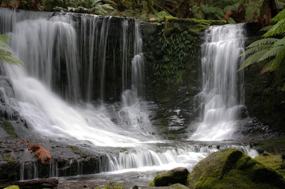 Horseshoe waterfalls, Tasmania
