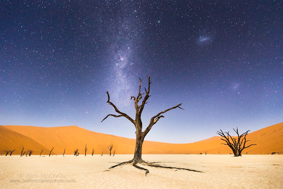 The night before returning to Windhoek, we spent several hours at Deadvlei, in Namib-Naukluft Nat...
