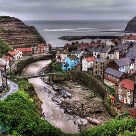 A few years ago I went to stay in Whitby, North Yorkshire, on a holiday with my family. Early one very rainy morning, I managed to get myself out...