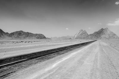 Desert Road, Iran