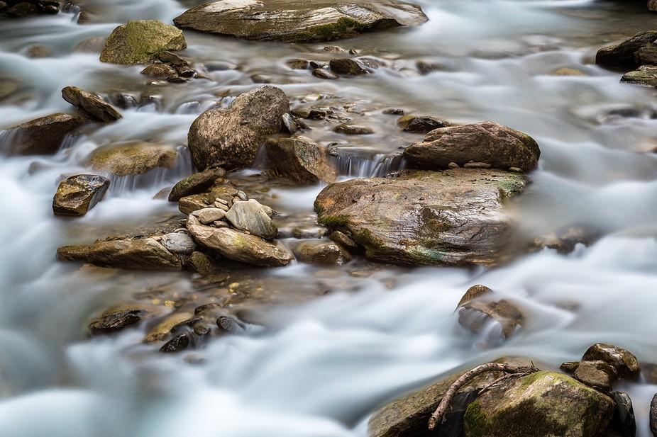 The Blinne is an alpine creek in Reckingen/Valais, Switzerland.