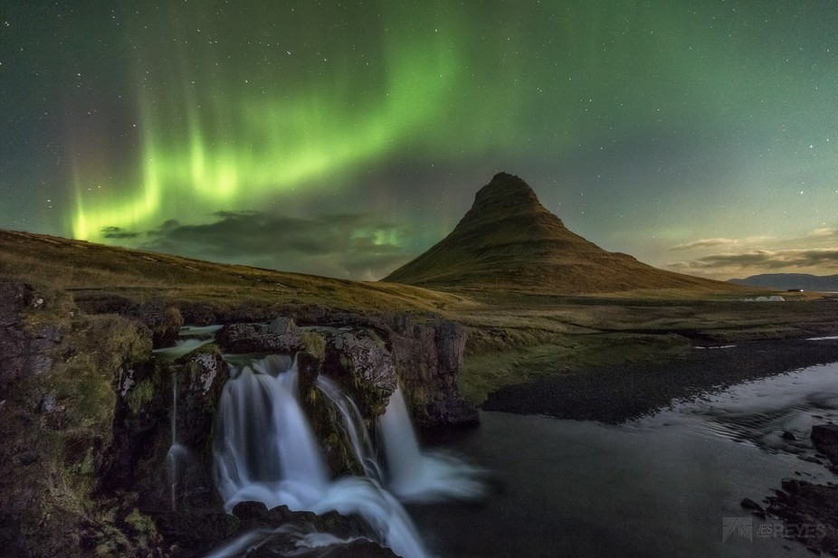 "This stunning northern light or ""Aurora Borealis"" was majestic to experienced f..."