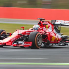 Sebastian Vettel - Ferrari Formula One British Grand Prix 2015 - Silverstone  www.fireproof-creative.co.uk  Images are copyright, all rights rese...