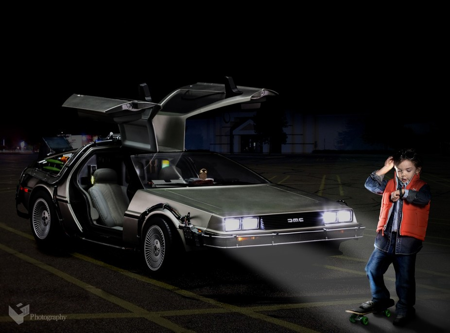 Just having a bit of fun on October 21, 2015... the same day Marty McFly and Doc Brown travelled ...