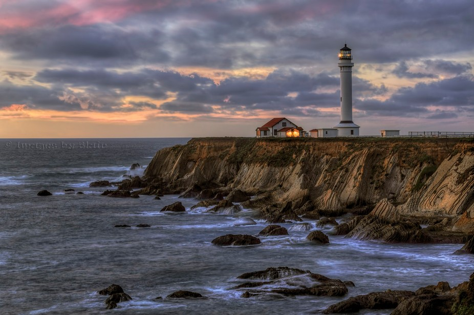 Lighthouse in northern California. I haven't had time to get out for new photos so I&amp...