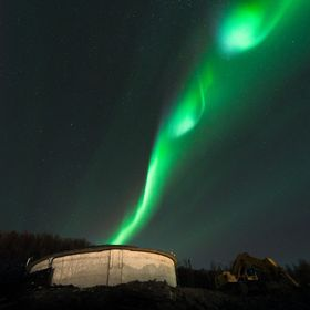 This is where they make the Northern Lights :D