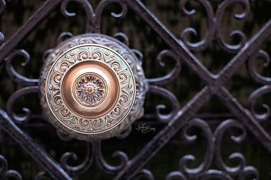 Doorknob in Venice