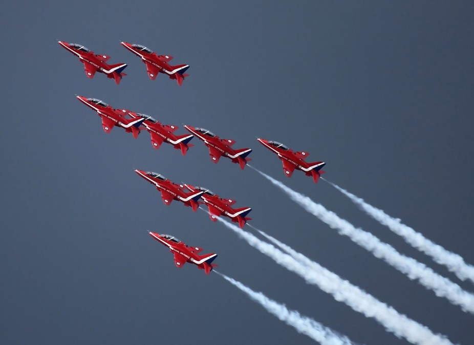 The outstanding UK Royal Air Force display team