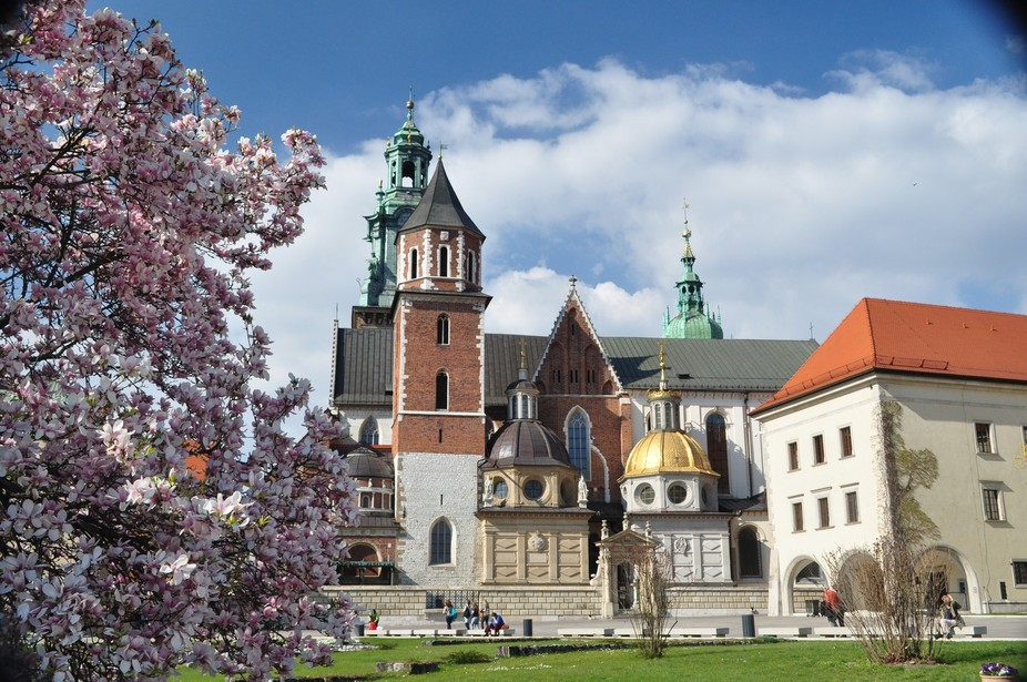 The Royal Palace in Poland's ancient capital.