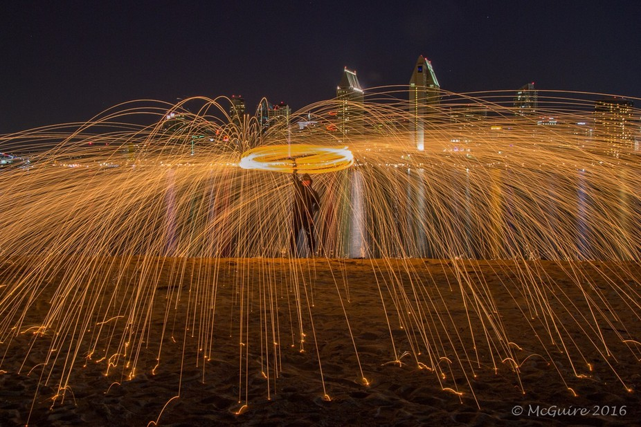 Went out the other night with a Meet-Up group for some night photography and we had s steelwool s...