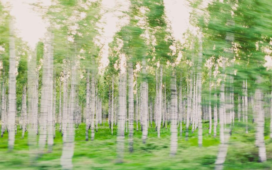 In a blur