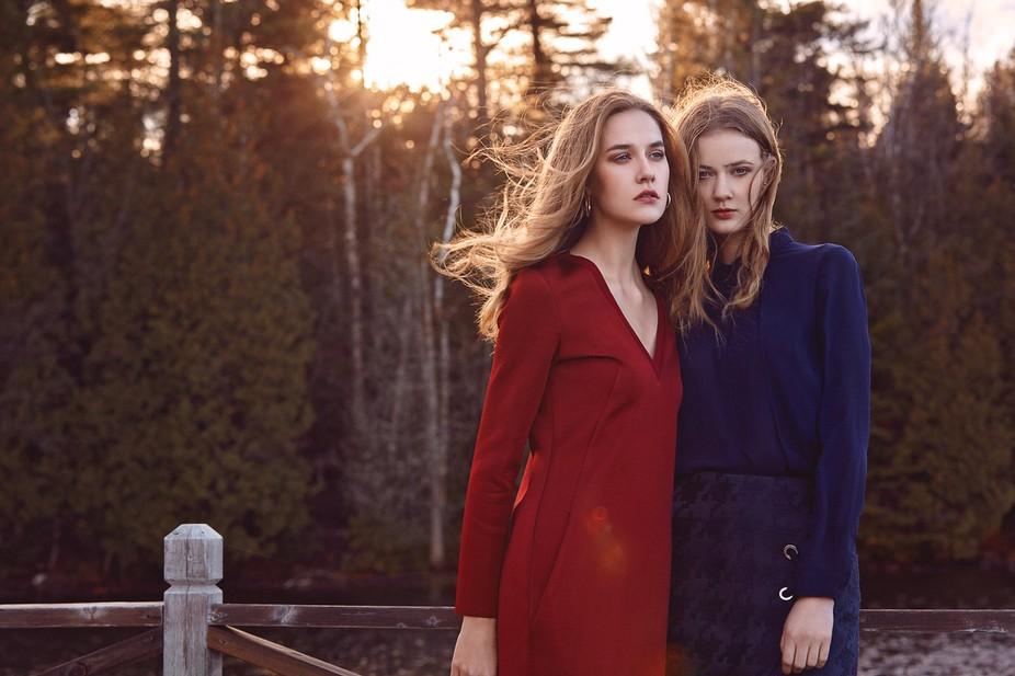 Model: Andi&Amelia ( DULCEDO Model Management ) MUA/Hair: Alexandra Lado Roy Stylist: Chr...