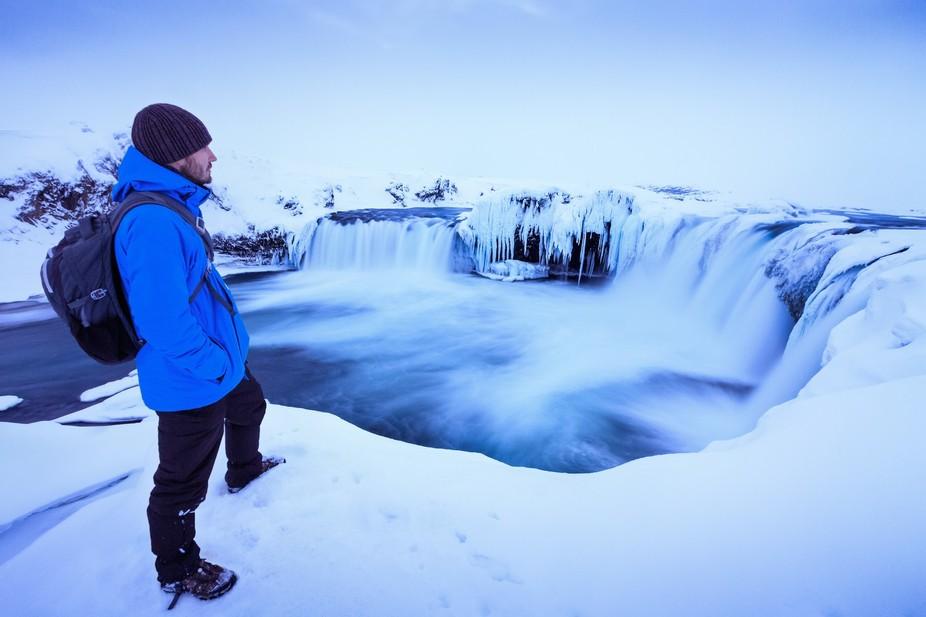 Goðafoss overlook