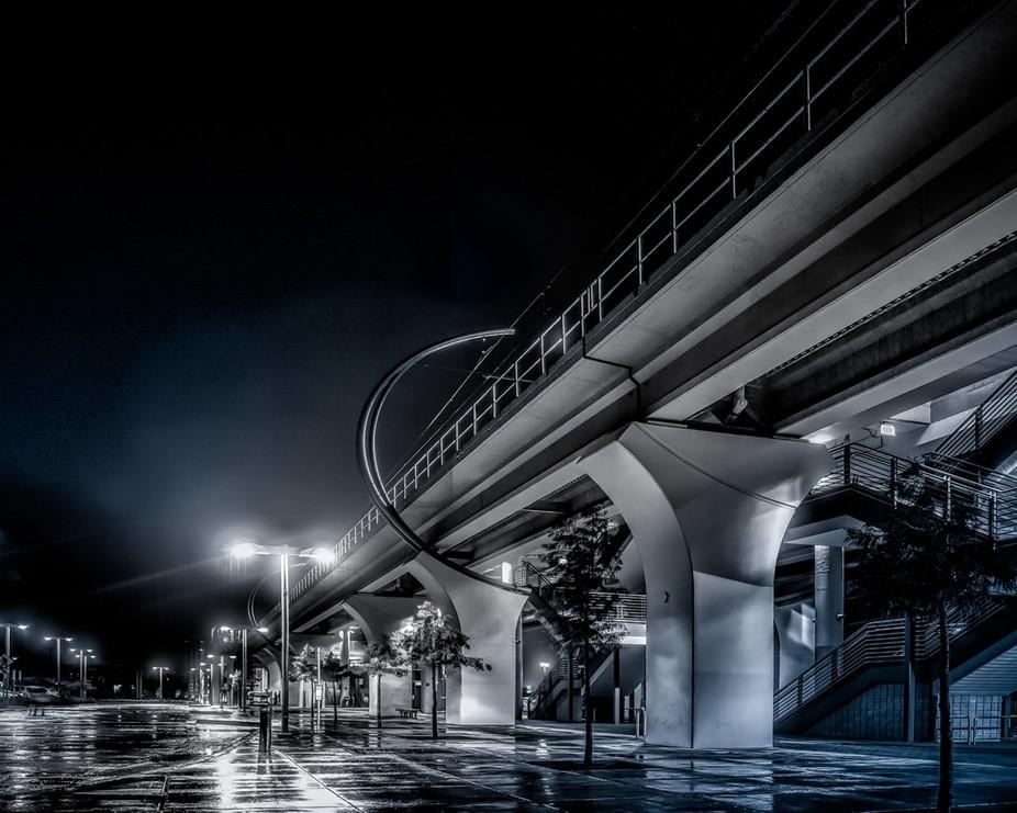 A Wet Dark Night