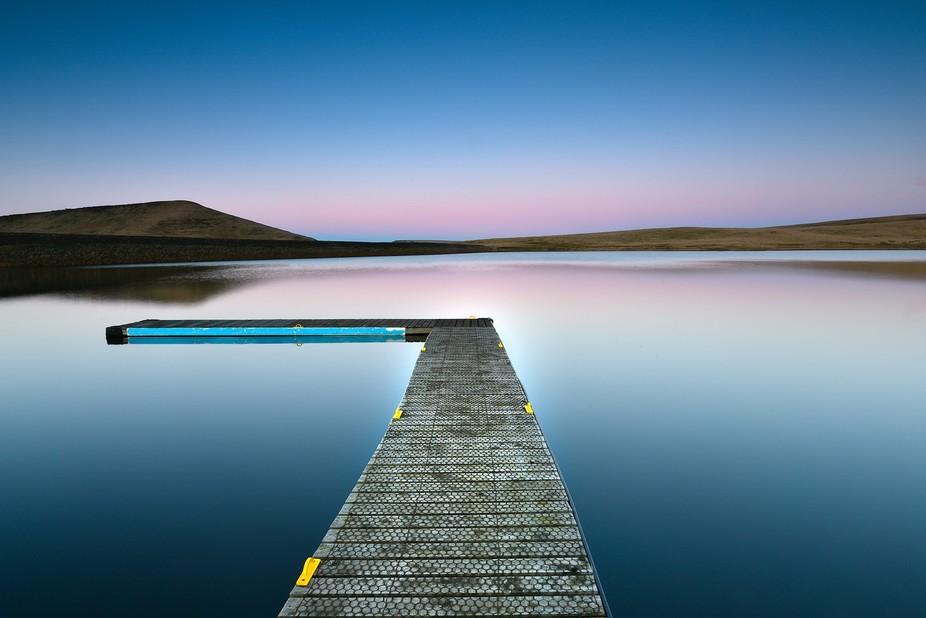redbrook reservoir sailing club in marsden west Yorkshire