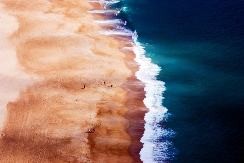 The Silver Coast: a view from above The Silver Coast in Portugal is known for its high sweeping c...